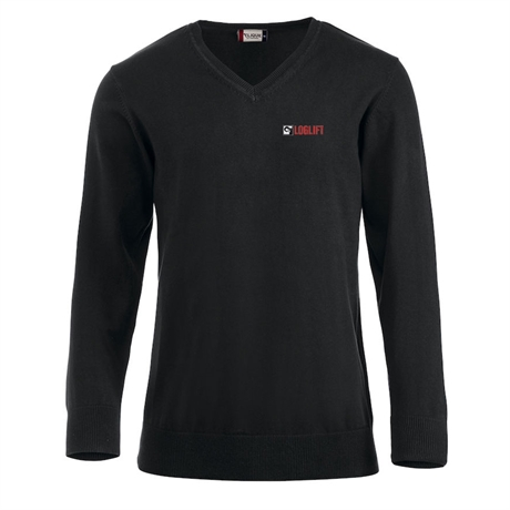 Pullover v-neck LOGLIFT, men